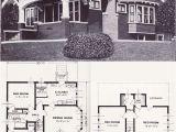Bungalow Style Homes Floor Plans 17 Best Ideas About Vintage House Plans On Pinterest