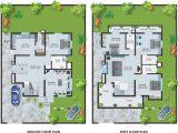 Bungalow Style Homes Floor Plans Modern Bungalow House Design with Floor Plan Terrific