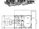 Cabin Home Floor Plans Vacation Log Cabin Floor Plans