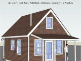 Cabin Homes Plans Pioneer 39 S Cabin 16×20 Tiny House Design