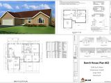Cad Home Plans Plans Plan Custom Home Design Autocad Dwg and Pdf