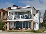 California Beach Home Plans Balboa island Beach House with Coastal Interiors Home