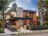 California Contemporary Home Plans A New Contemporary Home Arrives On This Street In Venice