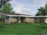 California Home Plans Long Low California Ranch 69401am Architectural
