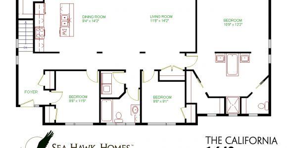 California House Plans with Photos California Sea Hawk Homes