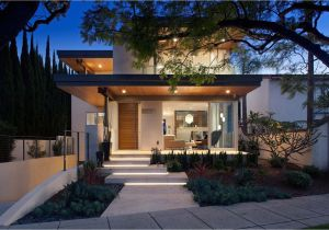 California Modern Home Plans southern California Home Features An Elegant Contemporary