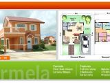 Camella Homes Drina Floor Plan House and Lot for Sale In Cebu and Bohol Floor Plans Of