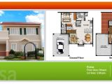 Camella Homes House Plans House and Lot for Sale In Cebu and Bohol Floor Plans Of
