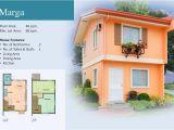Camella Homes House Plans Marga Model Camella Provence