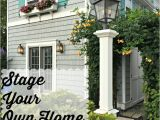 Can You Sell Your House Plans Stage Your Own Home for Sale Vintage American Home