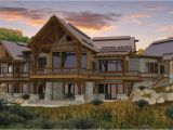 Canadian Timber Frame House Plans the Spanish Peaks Floor Plan by Canadian Timberframes Ltd