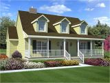 Cape Cod Home Plans Cape Cod Style House with Porch Contemporary Style House