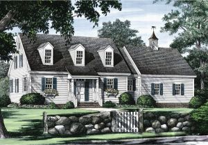 Cape Cod Home Plans Cape Cod with Open Floor Plan 32435wp Architectural