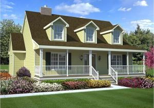 Cape Cod Homes Plans Cape Cod Style House with Porch Contemporary Style House