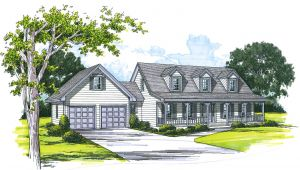 Cape Cod House Plans with attached Garage Cape Cod House Plans attached Garage Cottage House Plans