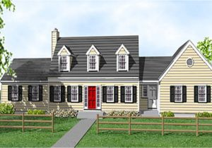 Cape Cod House Plans with attached Garage Compact Staircase Cape Cod Cottage House Plans Cape Cod
