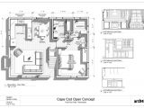 Cape Cod House Plans with Basement House Plan
