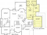 Cape Cod House Plans with Inlaw Suite Cape Cod House Plans with Walkout Basement Cottage House