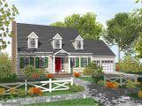 Cape Home Plans Customizable Cape Cod Classic 9554dm 2nd Floor Master