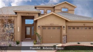 Carefree Homes El Paso Floor Plans 5 Bedroom Home Santiago Model by Carefree Homes El