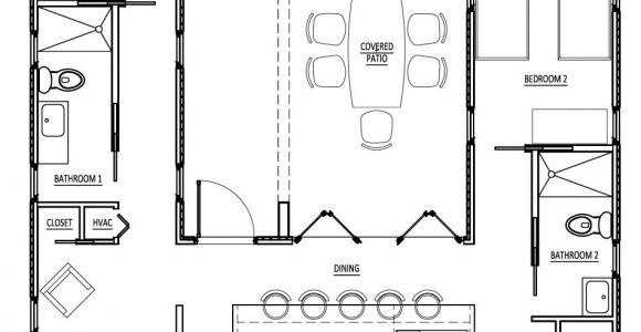 Cargo Container Home Floor Plans Sense and Simplicity Shipping Container Homes 6
