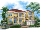 Caribbean Home Plans 3 Story Caribbean House Plan Beach Home Design for