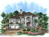 Caribbean island Home Plans Beach House Plan 2 Story Caribbean island Coastal Home