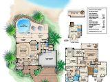 Caribbean island Home Plans Caribbean House Design Style 4 Bedrooms 5 Baths Luxury