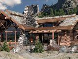 Caribou Log Home Floor Plan Caribou Floor Plan Log Home