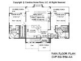 Carolina Small Home Plans Small Craftsman Bungalow House Plan Chp Sg 1596 Aa Sq Ft