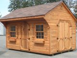 Carriage House Shed Plans Cedar Shed Plans Cross Plan