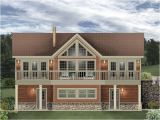 Carrige House Plans 006g 0170 Carriage House Plan Designed for A Sloping Lot