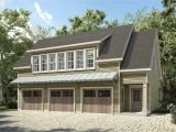Carrige House Plans Plan 36057dk 3 Bay Carriage House Plan with Shed Roof In