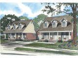 Carter Home Plans Carter Cape Cod Style Duplex Plan 055d 0371 House Plans