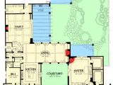 Casita Home Plans Plan 16386md Courtyard Living with Casita