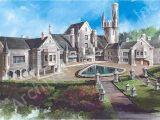 Castle Home Plans Balmoral Castle Plans Luxury Home Plans Lap Pools