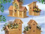 Cedar Bird House Plans Cedar Birdhouse Planter Plan Cherry Tree toys