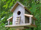 Cedar Bird House Plans Rustic Reclaimed Cedar Birdhouse Barn