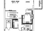 Cement Block House Plans Concrete Block Icf Vacation Home with 3 Bdrms 2059 Sq