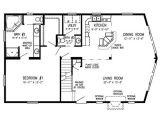 Chalet Home Floor Plan Chalet Tamarack