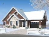 Chalet House Plans with attached Garage Chalet with Garage Added Drummond House Plans Blog