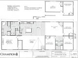 Champion Double Wide Mobile Home Floor Plans Champion Homes Double Wides