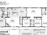 Champion Modular Homes Floor Plans Champion Homes Floor Plans