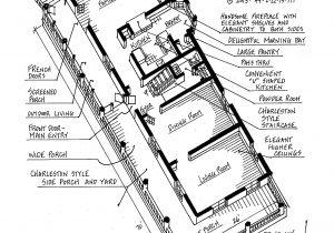 Charleston Single House Plans 506 Pitt Street Floor Plans the Cassina Group