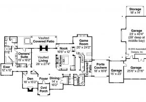 Chateau Homes Floor Plans Chateau House Plans Picardie Villa 30 676 associated