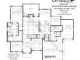 Chateau Homes Floor Plans Chateau Le Mont 3796 House Plans by Garrell associates
