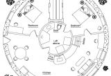 Circular Homes Floor Plans Round House Earthbag House Plans