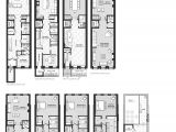 City Home Plans New York City townhouse Floor Plans