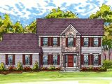 Classic Colonial Home Plans Classic Colonial Exterior 20519dv Architectural