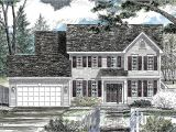 Classic Colonial Home Plans Classic Colonial House Plan 19612jf Architectural